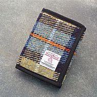 Harris tweed wallet Mackenzie tartan