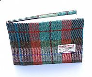 Harris tweed guest book