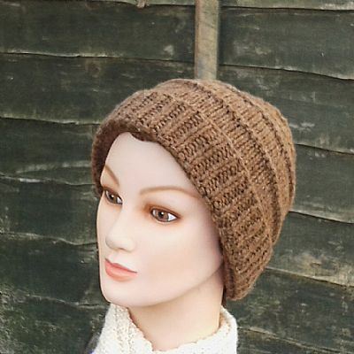 women's manx loaghtan beanie by roses workshop