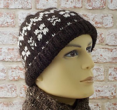 hebridean and corridale mens beanie by roses workshop