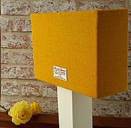 Medium rectangular lampshade yellow