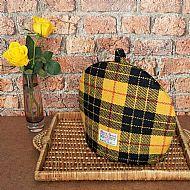 Harris tweed tea cosy Macleod tartan