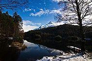 Glencoe Lochan, Winter