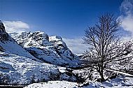Three Sisters, Glencoe Winter