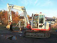 7.5 Ton 360 Deg Digger