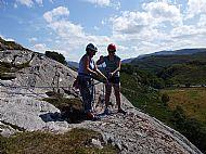 Cardiff WEMS climbing day at Ardheslaig