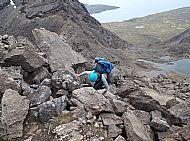 The South Ridge of Sgurr Dubh an Da Bheinn.