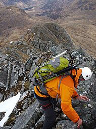 Malcolm on the Forcan Ridge