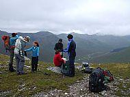 SYHA Glen Affric Munros Activity Holiday: On the S ridge of A' Chralaig