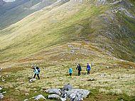 On the NE ridge of An Socach