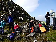 The Bealach an Sgairne, en route from Glen Affric to Morvich