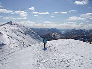 Summit ridge of Gulvain.