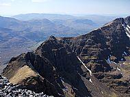 The Am Fasarinan Pinnacles of Liathach, Torridon.