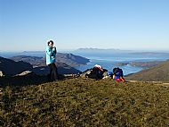 A last brew before setting off. Meall Buidhe, Knoydart