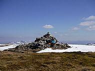 Aonach Mor summit cairn