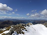 A western panorama from Sgurr Fhuaran