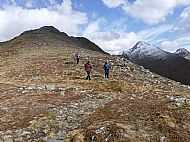 The long descent from Beinn Bhuidhe