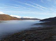 A frosty inversion - Glen Shiel