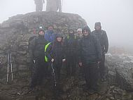 Advocate Events 'Barclays Tomorrow's People' 3 Peaks Challenge Group on Ben Nevis.