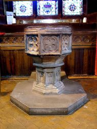 The Font in the Parish Church