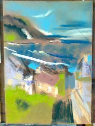 pastel work by Helen