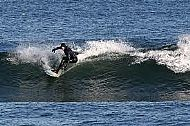 winter surfing at the surf and watersports club banff
