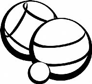 Boules and Jack Clipart