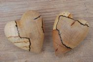 Spalted Beech Pair
