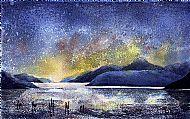Night Sky over Loch Ness