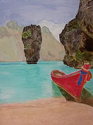 Vietnam, Acrylic, B. Freil