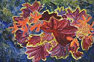 Flowers, Acrylic, D.Shaw