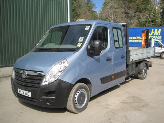 vauxhall Movano double Cab Tipper