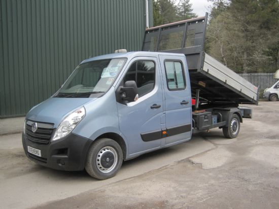 Vauxhall Movano L3 H1 Double cab Tipper