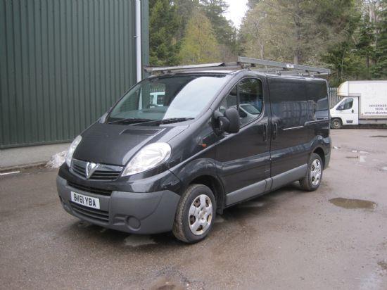 Vauxhall Vivaro 2700 CDTI 113 SWB