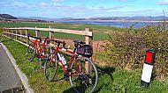 Along the Tay Estuary Sustrans 777 towards Newburgh