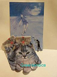 Kitty Crystal Gloves+Christmas Decoration