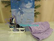 Lilac Hand Warmers+ Ice Skate Mirror