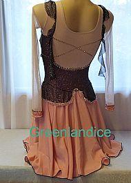 Anna Marie design Black/pink Back View