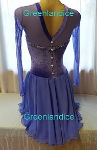 Lexie design in Lavender Back View