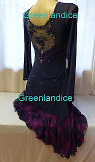 Tango Ice Dance Dress