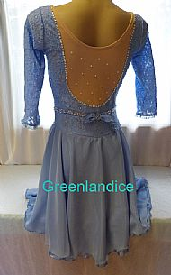 Wendy design in Blue Back View