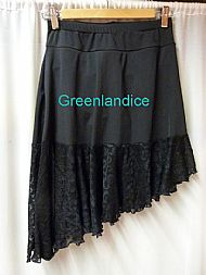 Black Ice Dance Skirt