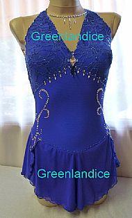 Alissa design in Sapphire