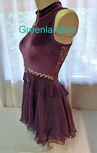 Bella design in Plum
