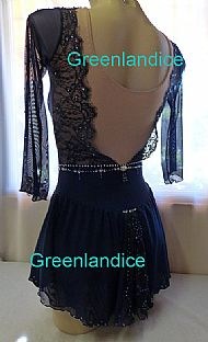 Grace design in Dark Blue Back View