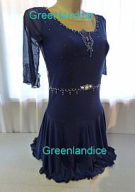 Grace design in Midnight Blue