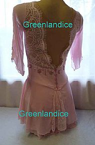 Grace design in Pink Back View