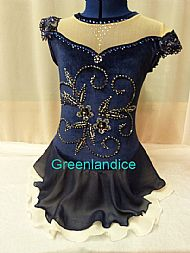 Kimmie Design in Dark Blue