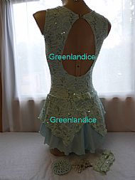 Laura design in Mint Back View
