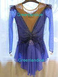 Lavender Fairy Ice Skating Dress
